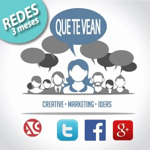 Redes sociales 3 meses